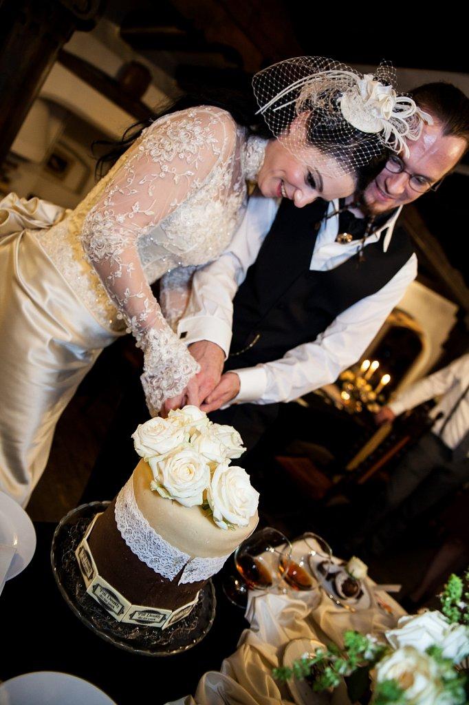 Wedding Photography - The Cake