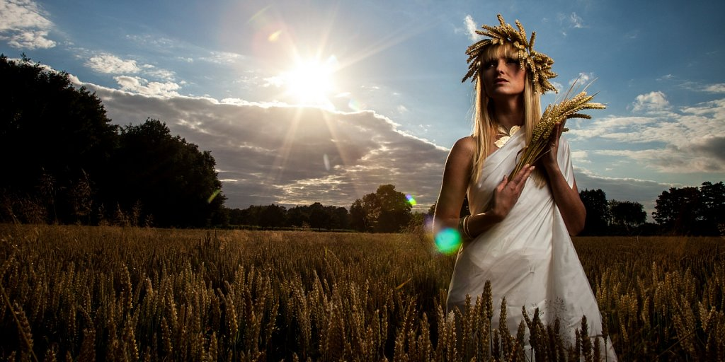 Ceres - Roman Goddess of Agriculture