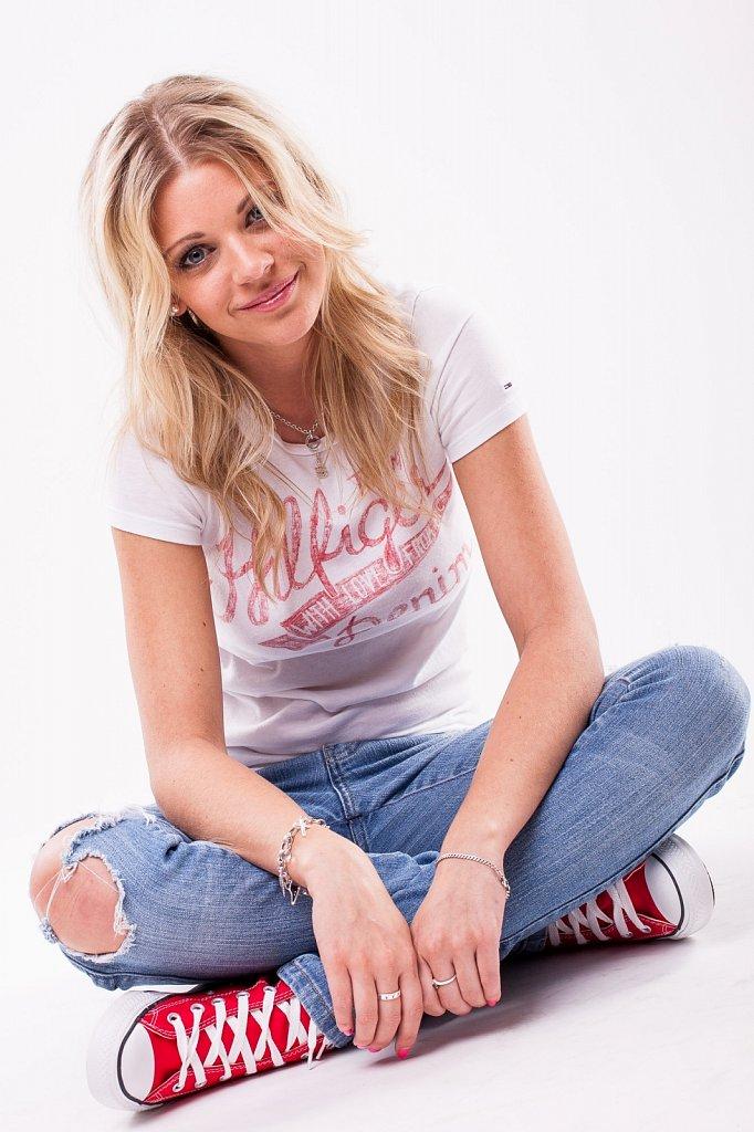Steffi Smiling